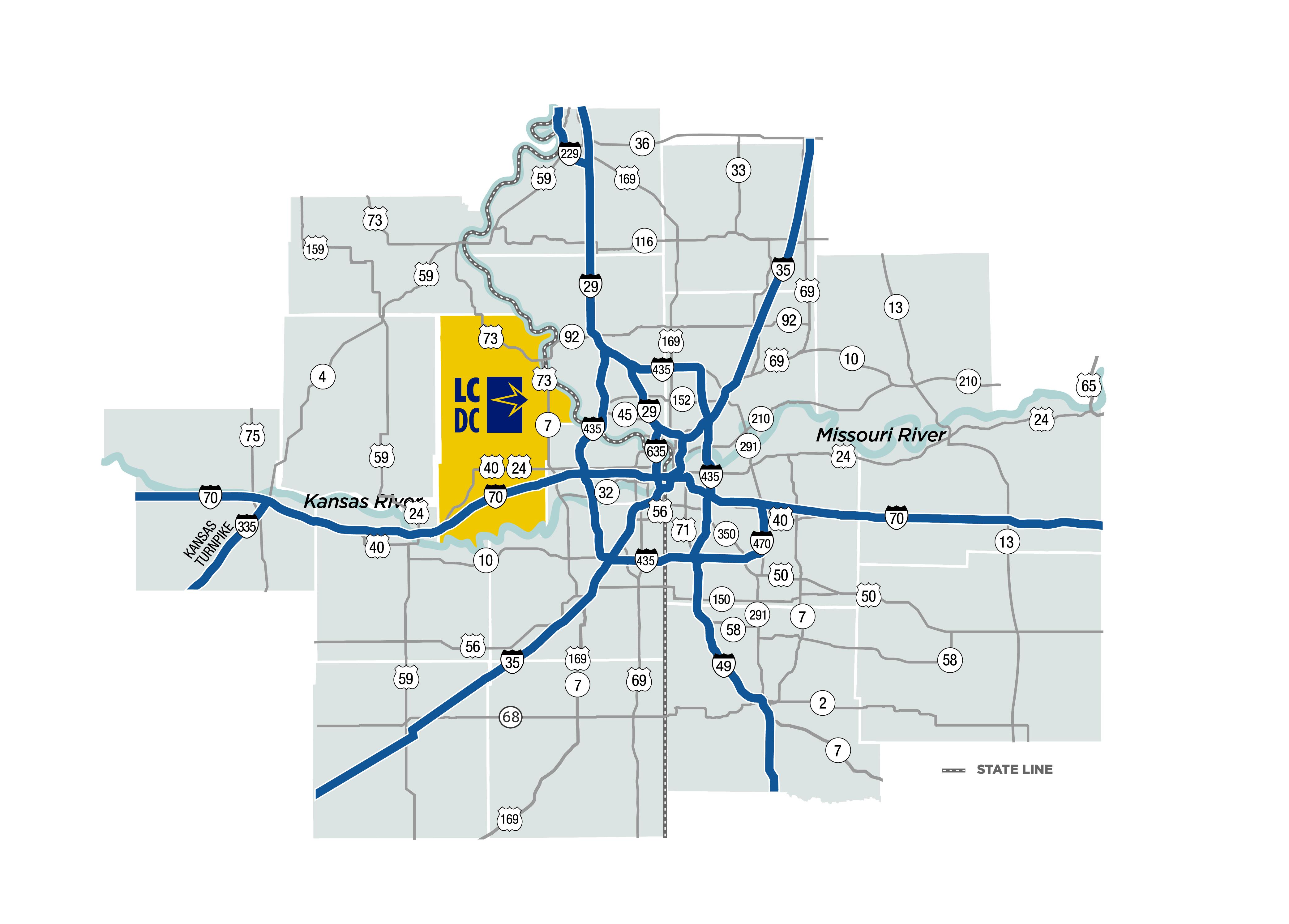 Transportation - Leavenworth County Development Corporation on atlas road map, st. petersburg road map, fort smith road map, lawrence kansas road map, state of kansas road map, new haven road map, minneapolis st paul road map, goshen county road map, western kansas road map, berkeley road map, kailua road map, southern il road map, st. louis area road map, lake of the ozarks road map, st louis metro road map, south puget sound road map, webster county road map, new york city area road map, christian county road map, long beach road map,